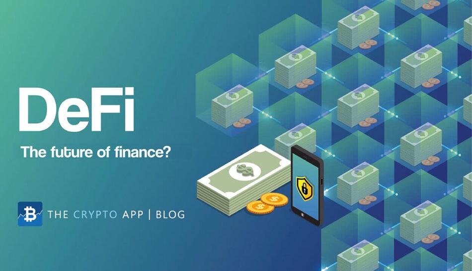 DeFi - Decentralized Finance on Ethereum Blockchain