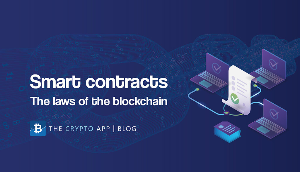 Contrats intelligents: les lois de la blockchain