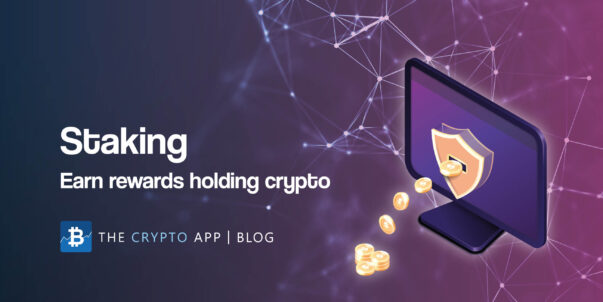 Staking: Earn rewards holding crypto (blog post image)