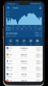 The Crypto App Wallet