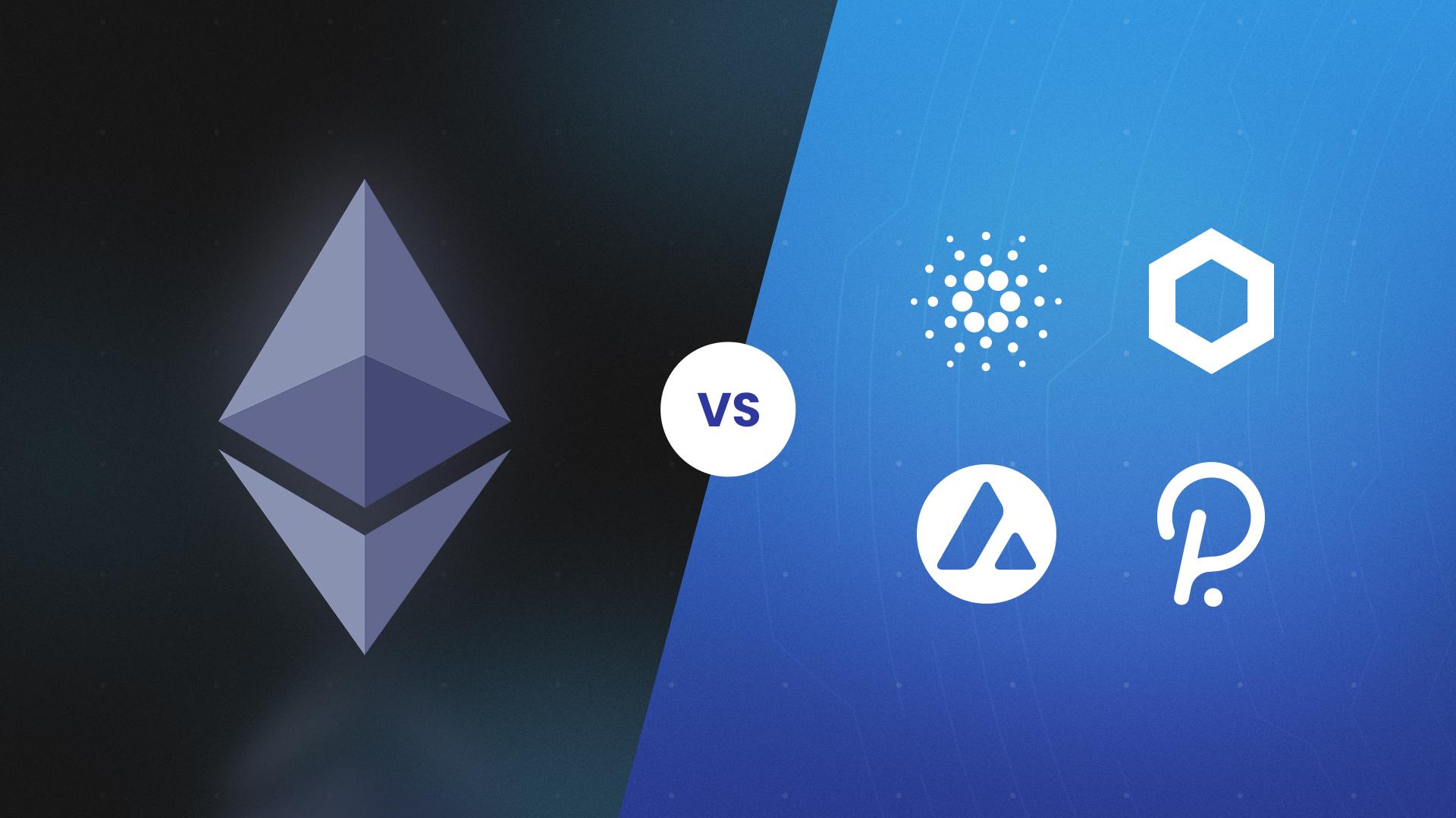Ethereum contre les concurrents